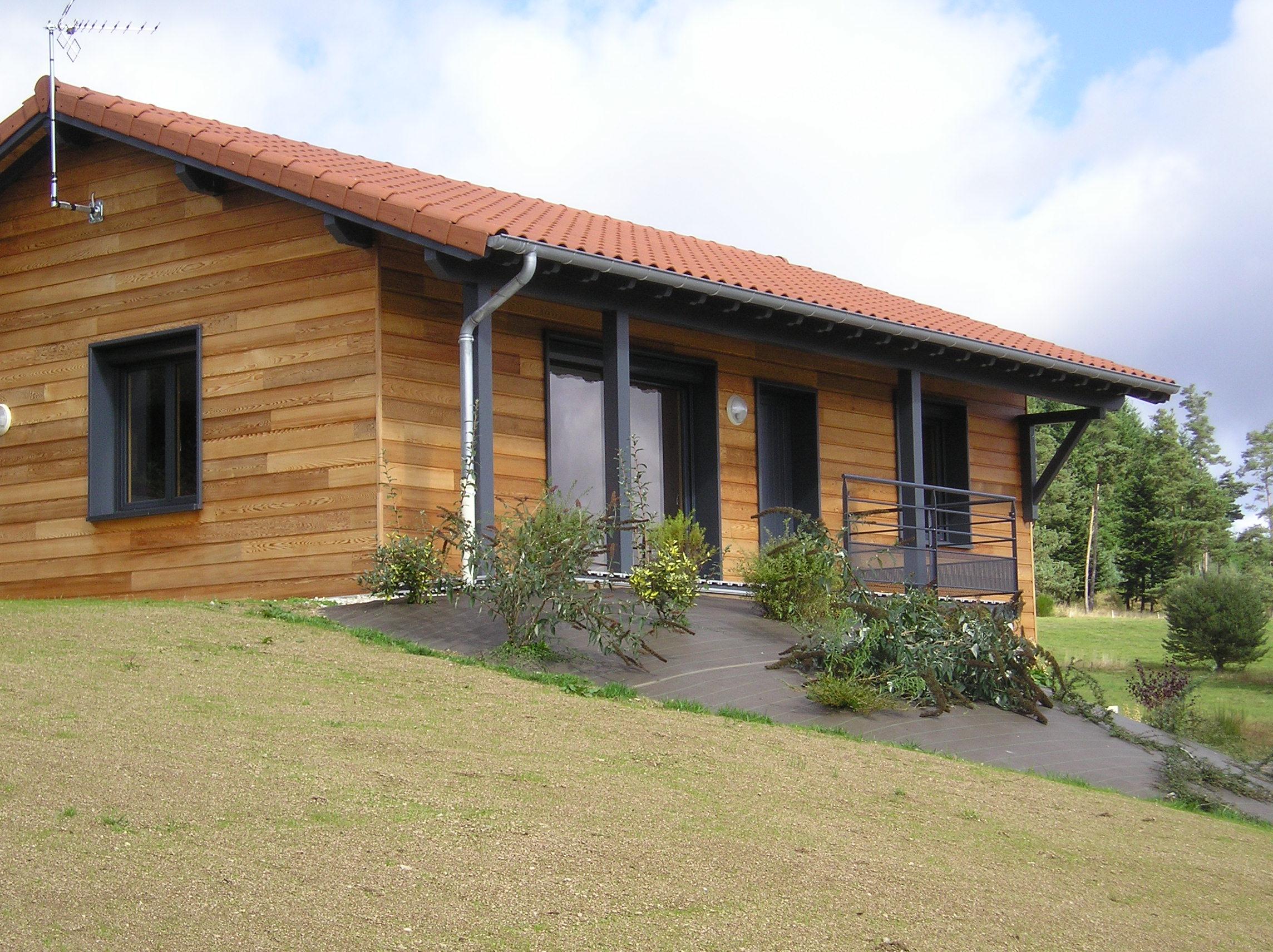 Maison Ossature Bois 42 Loire Estivareilles9
