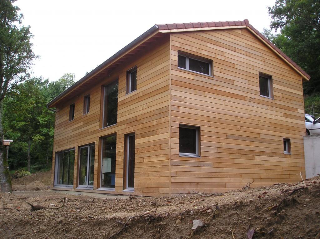 Maison Ossature Bois 42 Loire CHAMBLES
