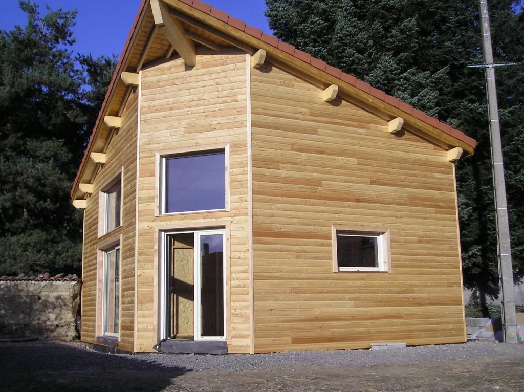 Maison Ossature Bois 42 Loire Aveizieux