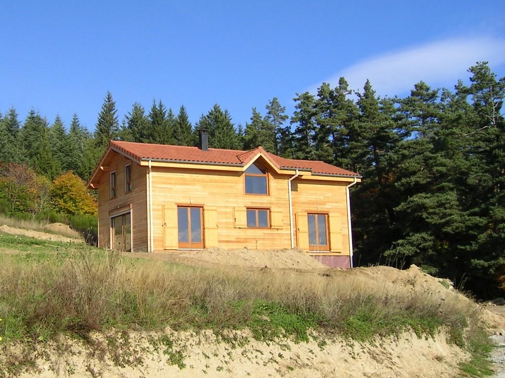 Maison Ossature Bois 42 Loire Estivareilles3