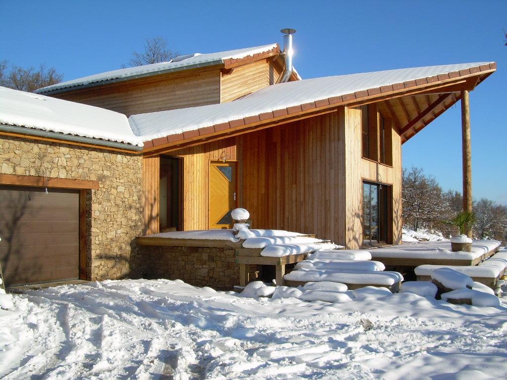 Maison Ossature Bois 42 Loire Pélussin