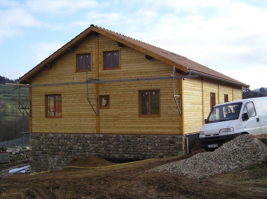Maison Ossature Bois 42 Loire Roche-en-Forez