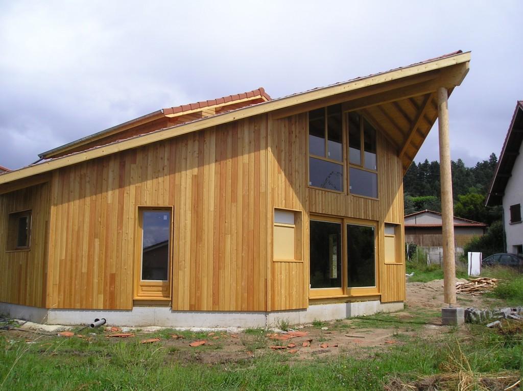 Maison Ossature Bois 42 Loire Saint-Galmier1