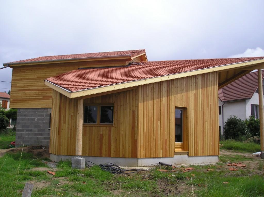 Maison Ossature Bois 42 Loire Saint-Galmier3