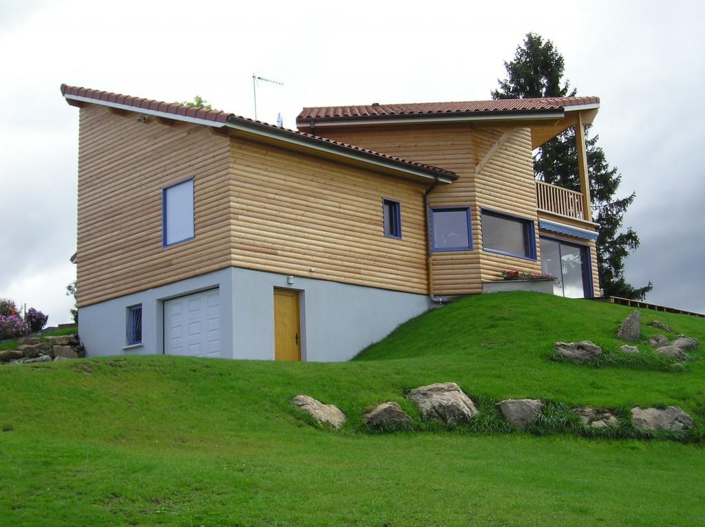 Maison Ossature Bois 42 Loire Usson