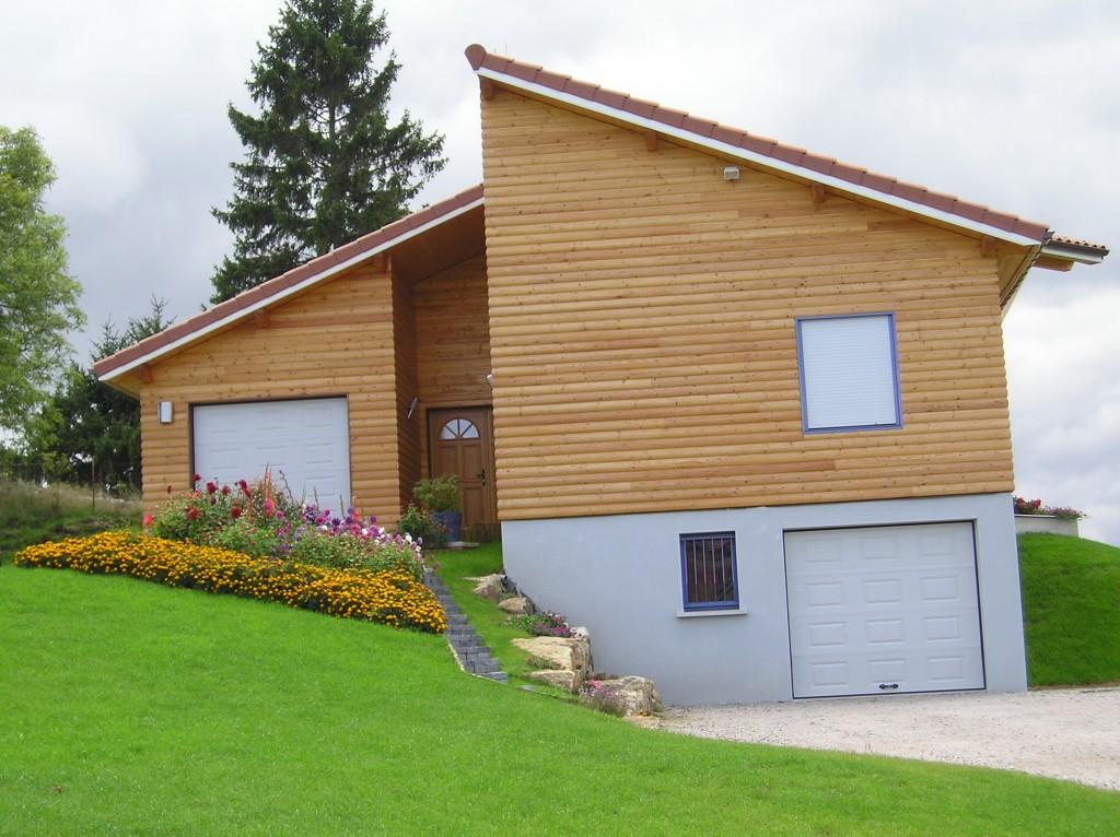 Maison Ossature Bois 42 Loire Usson2