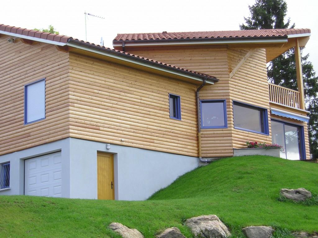 Maison Ossature Bois 42 Loire Usson4