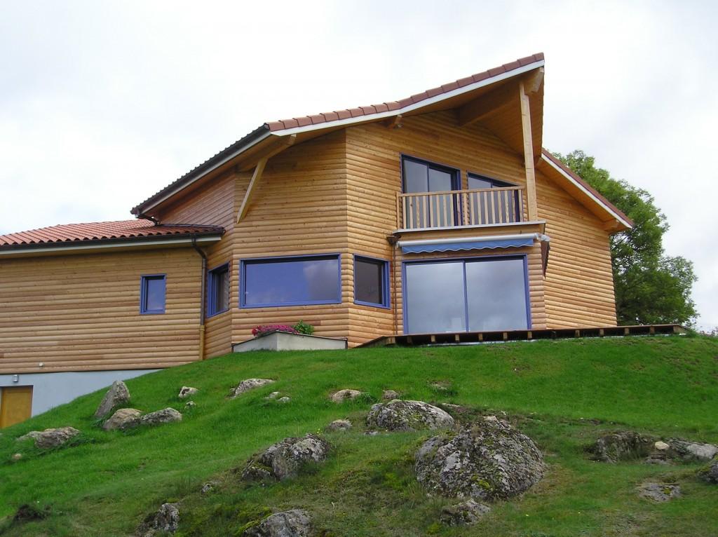 Maison Ossature Bois 42 Loire Usson5