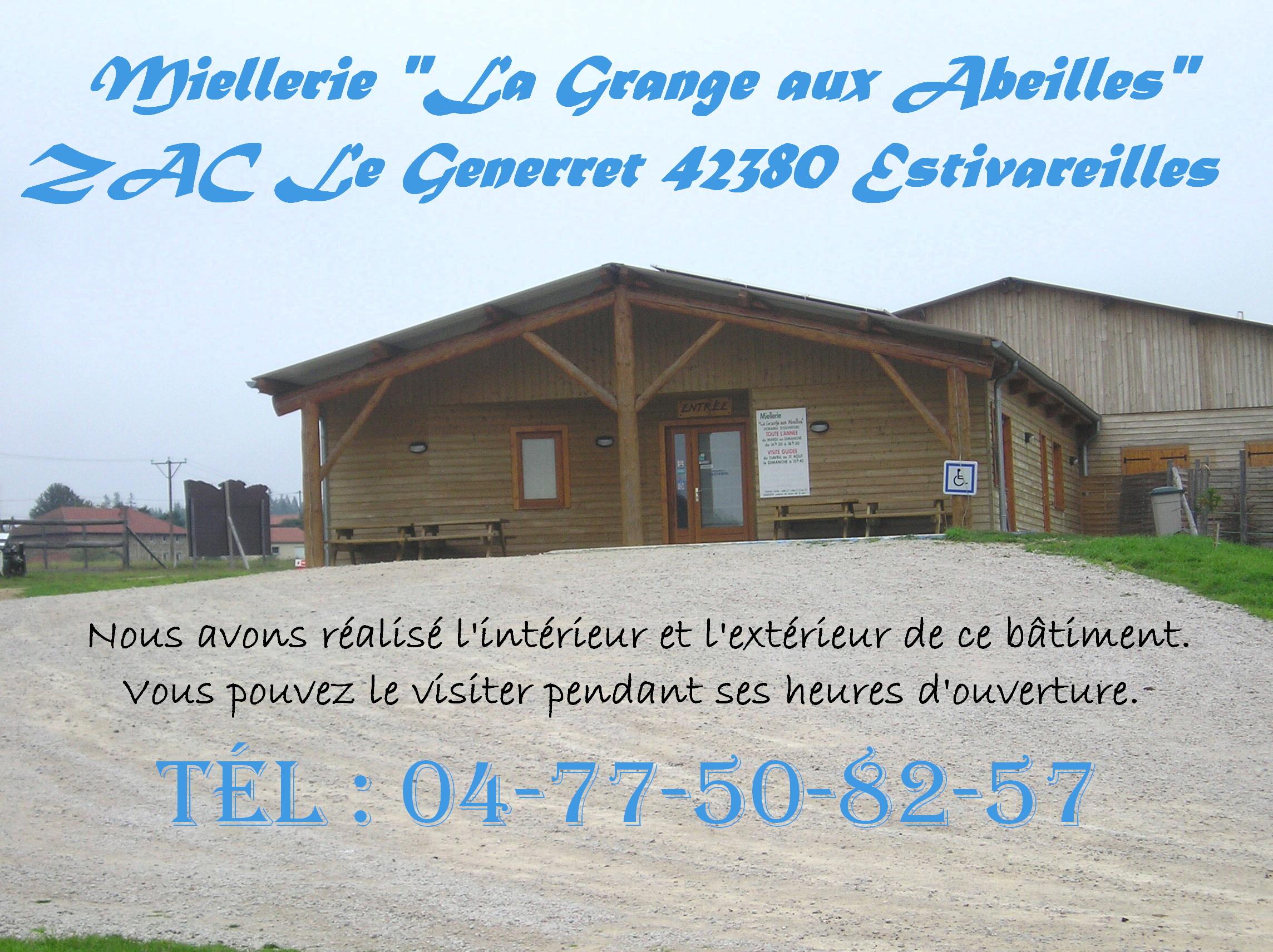 BATIMENT OSSATURE BOIS 42 Loire MIELLERIE ESTIVAREILLES