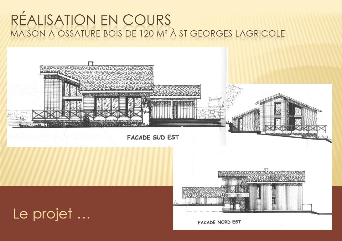 Projet Maison Bois 1