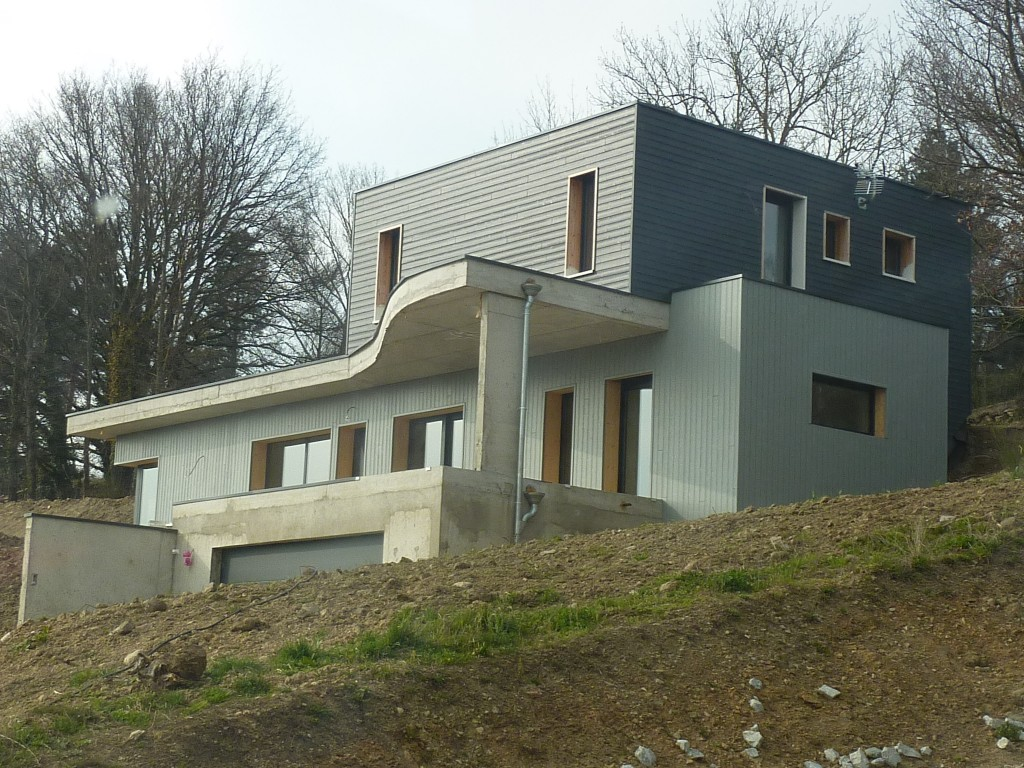 Maison Ossature Bois 42 LoireLa fouillouse2