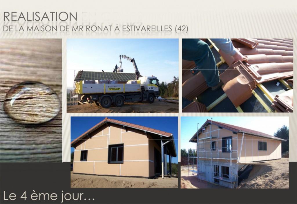 Maison ossature bois 42 loire estivareilles13 for Maison container loire 42
