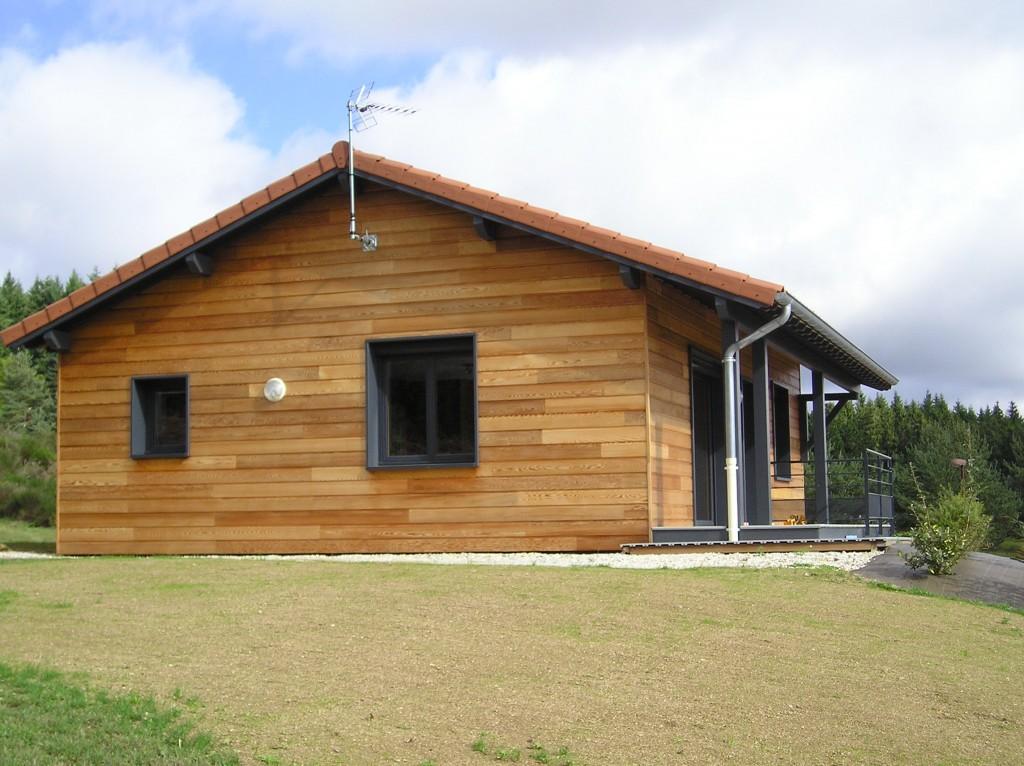 Maison ossature bois 42 loire estivareilles10 for Maison container loire 42